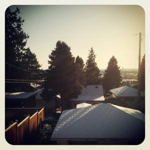 La neve a casa nostra!