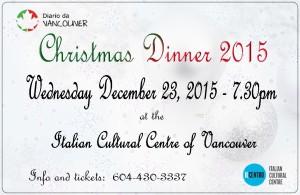 christmas dinner 2015 DDV